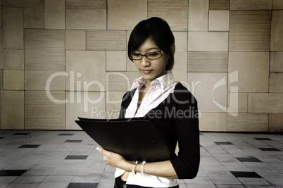 Reading document