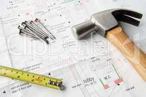 Close up house plans