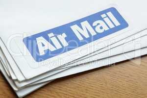 Air mail documents for despatch