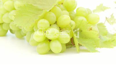 closeup of fresh grapes loopable