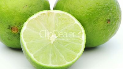 closeup of lime