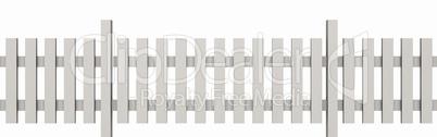 3d holzzaun wei freigestellt 03 lizenzfreie bilder und fotos. Black Bedroom Furniture Sets. Home Design Ideas