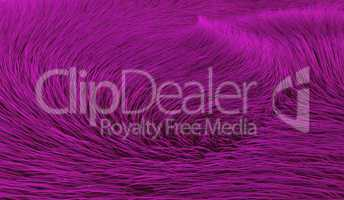 Wirbel in lila Fell - Hintergrund
