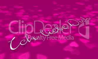 Pink Konzept - Ich liebe Dich