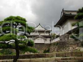 Old japanese buildings