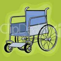 Clip art wheelchair