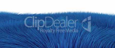 Blaue Fasern freigestellt 01