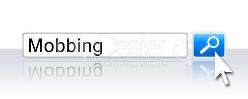 Internet Suche Blau - Mobbing