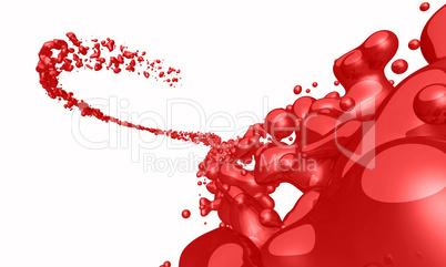 Rote Spritzer freigestellt 02