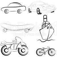 Sketch transport illustration