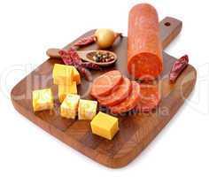 Pepperoni Salami and cheese