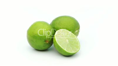lime full and half looping