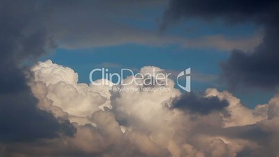 sky and cloud - timelapse