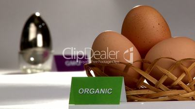 Organic and Genetically modified food, eggs