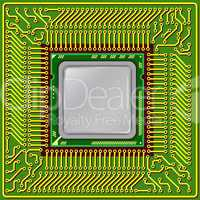 The modern computer is the processor on a chip