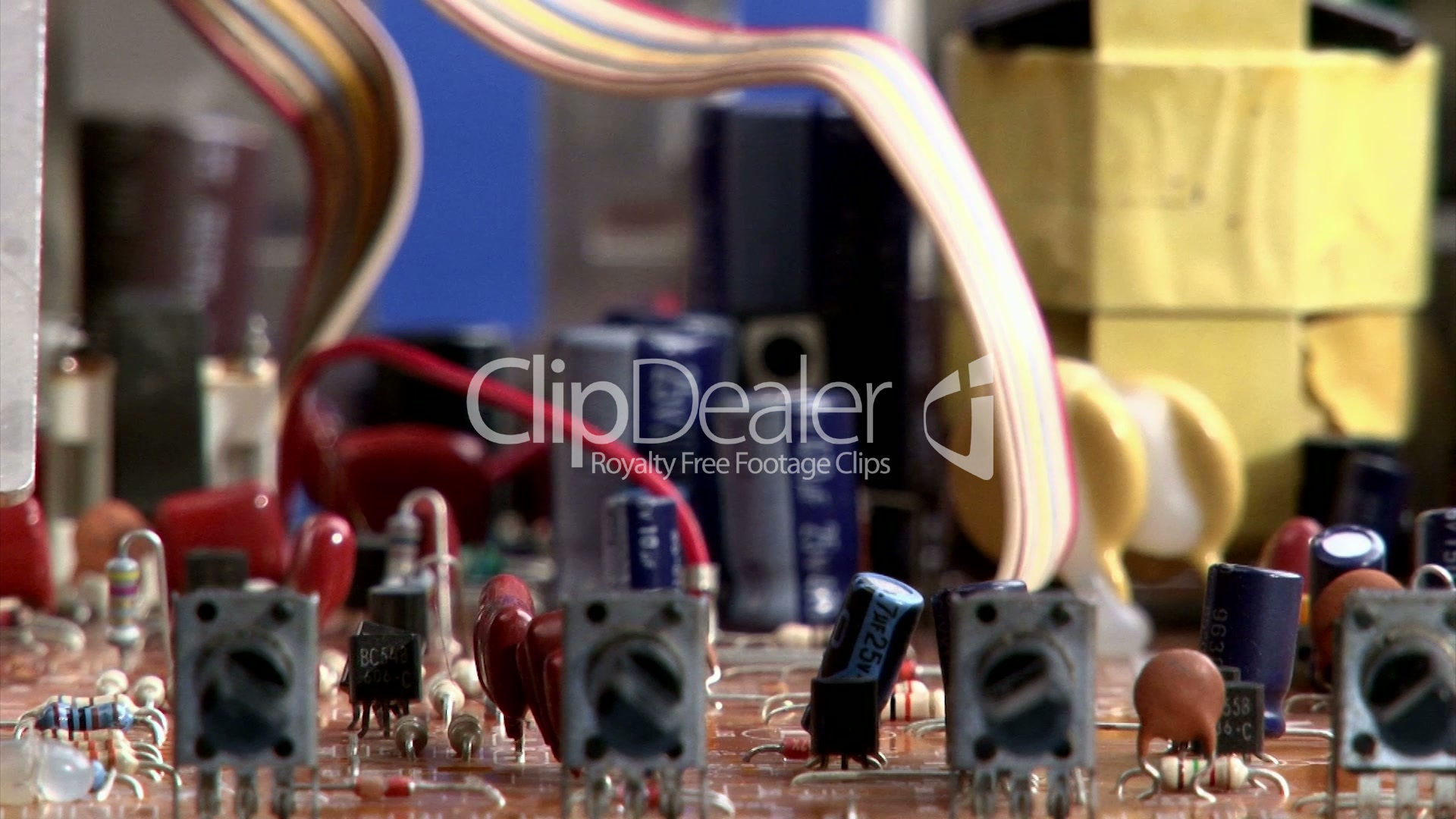 Electronics Circuit Board Royalty Free Video And Stock Footage Trace