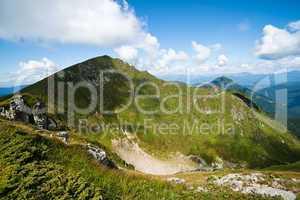 Mountain landscape: Carpathians range