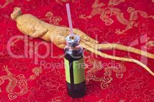 Ginseng-Trinkampulle