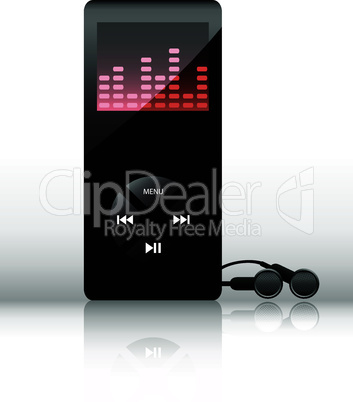 Vector mp3 player