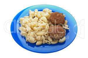Cutlet macaroni food