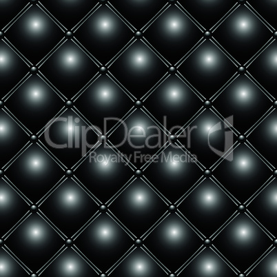 buttoned metallic pattern