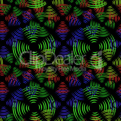 seamless abstract circles