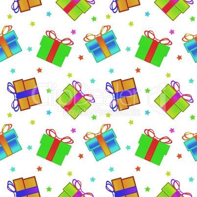 present boxes pattern