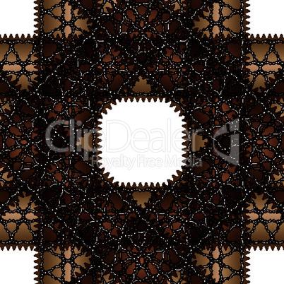 brown pattern