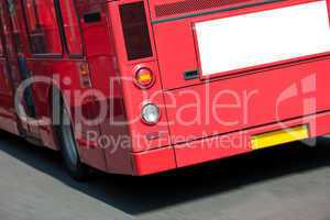 London Bus With Copy Space