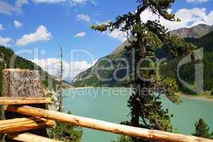Zufrittsee in Südtirol