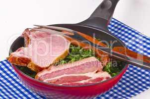 borecole frying pan