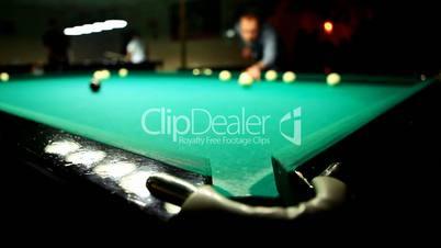 Billiards.