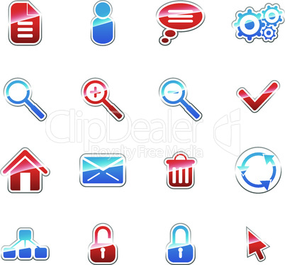 Label icons