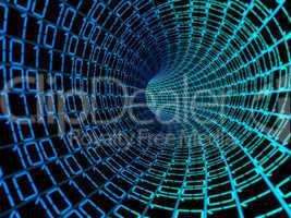 Binary code data digital background
