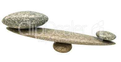 Influential thing: Pebble stability scales with stones