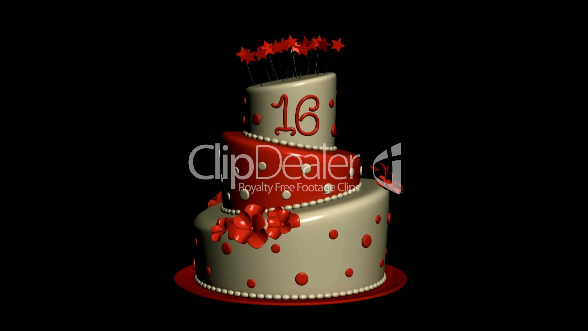 Delicious Birthday Cake Food Party Celebration Sweet Dessert Happy