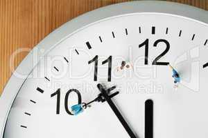 Countdown bis Mitternacht und Neujahr