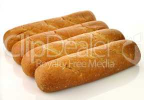 Whole wheat loaf of bread