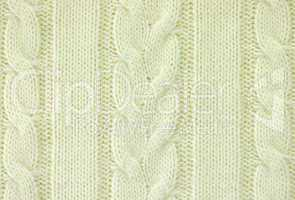 Knitted woolen background
