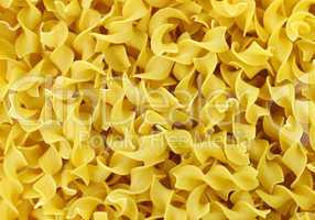 raw pasta background