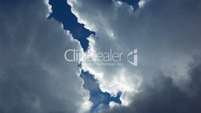 sky and cloud - timelapse