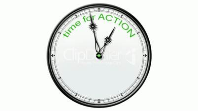 Clock: Time for Action