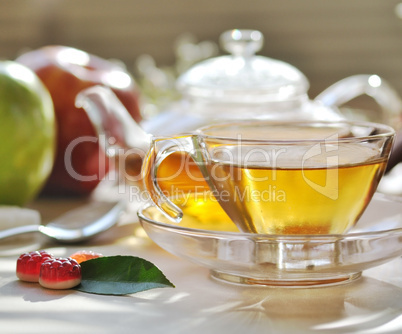 morning green tea set