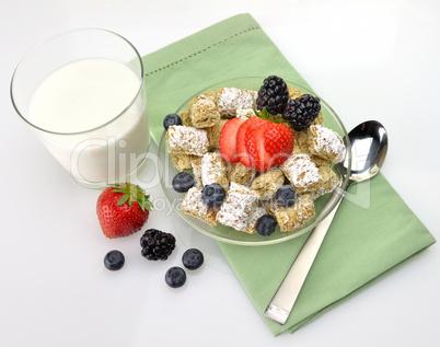 healthy breakfast,Shredded Wheat Cereal