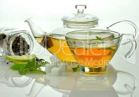 green tea composition