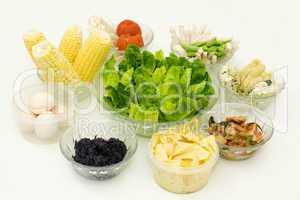 Healthy Organic Meal.