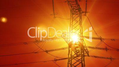 timelapse electricity