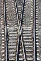 Railway Tracks and Switch