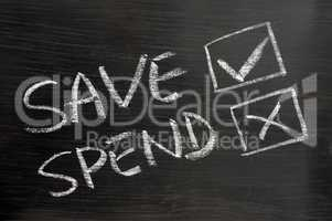Save and spend