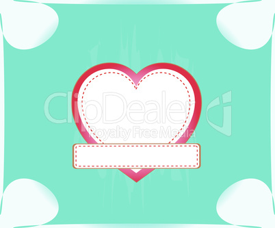 valentine love heart romantic birthday abstract background. vector